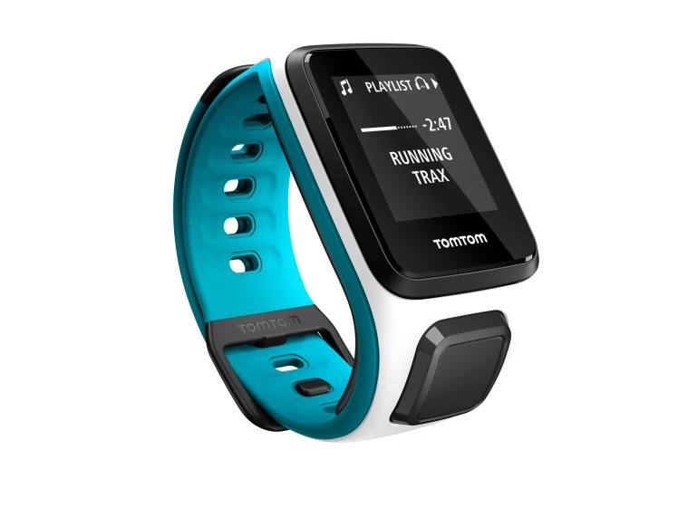 TomTom Runner 2_Cardio + Music_schmales Armband
