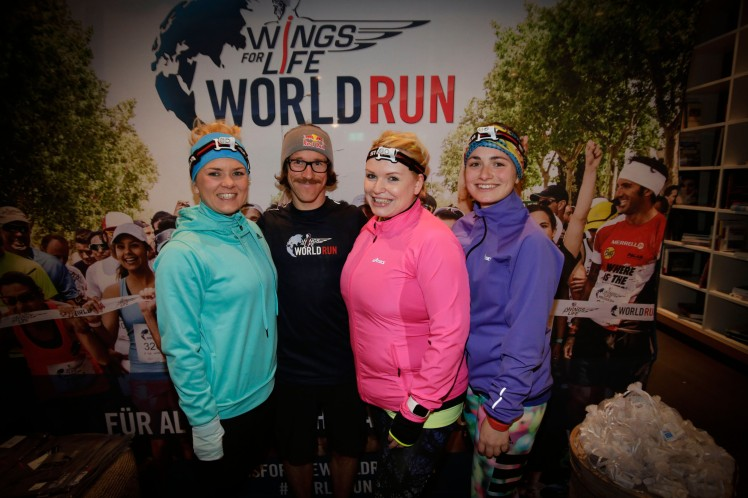 Wings for Life WorldRun event in Munich 23rd of January 2016